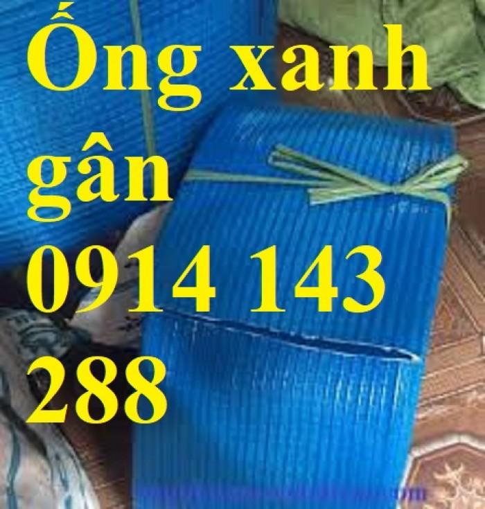 Ống bạt xanh xả nước Phi 100 giá rẻ5