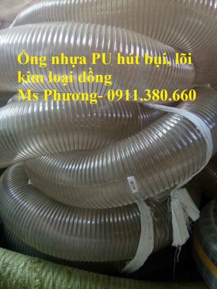 Ống hút bụi PU lõi thép mạ đồng D40, D50,... D400, giao toàn quốc3