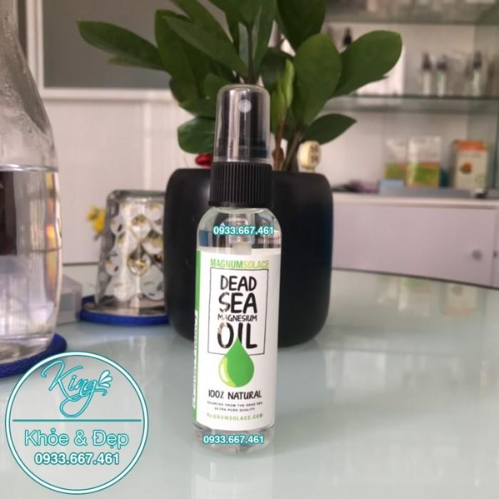 Dầu Magiê - Dead Sea Magnesium Oil - chai nhỏ 60 ml