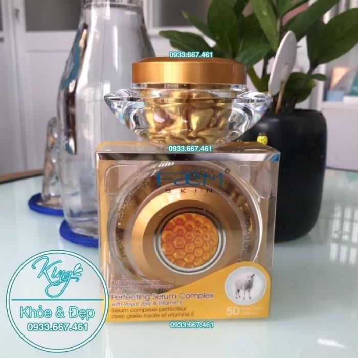 Viên Bôi Sữa Ong Chúa Dạng Serum 50 Viên (Perfecting Serum Complex With Royal Jelly & Vitamin E)0