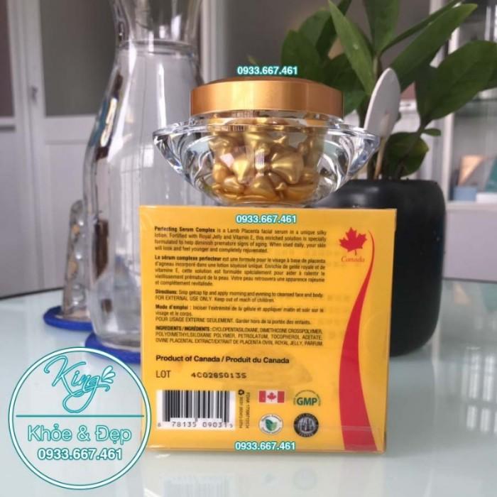 Viên Bôi Sữa Ong Chúa Dạng Serum 50 Viên (Perfecting Serum Complex With Royal Jelly & Vitamin E)3
