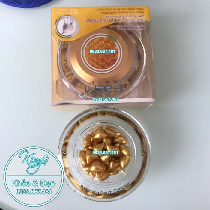 Viên Bôi Sữa Ong Chúa Dạng Serum 50 Viên (Perfecting Serum Complex With Royal Jelly & Vitamin E)1
