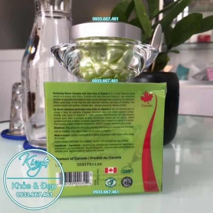 Viên Bôi Nha Đam Dạng Serum 50 Viên (Perfecting Serum Complex With Aloe Vera & Vitamin E)3