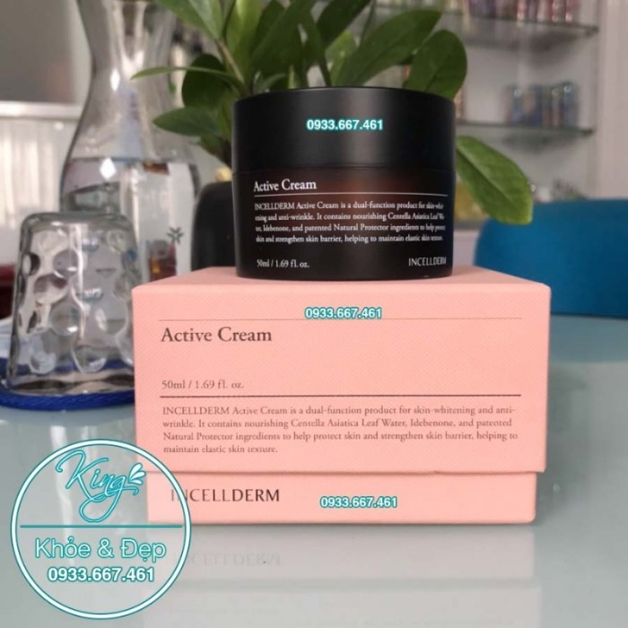 Kem Incellderm Active Cream 50ML (Hàn Quốc)2