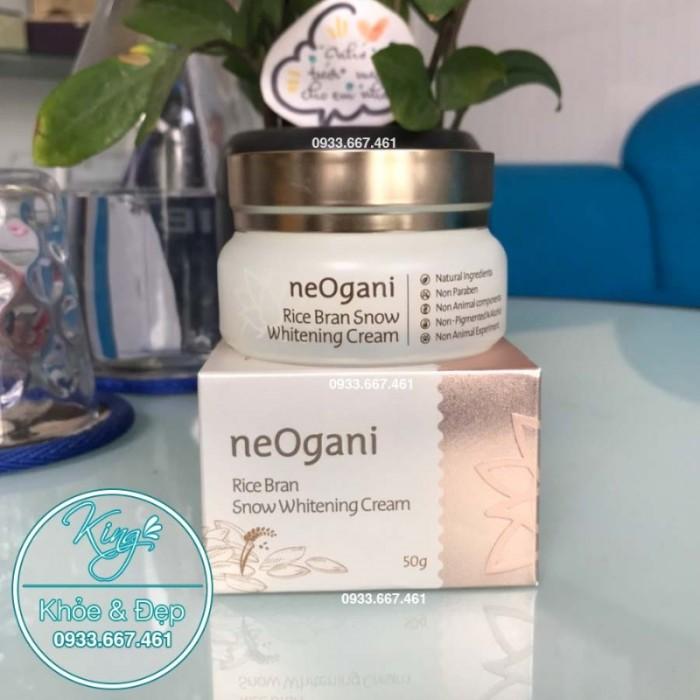 Kem Neogani Rice Bran Snow Whitening Cream0