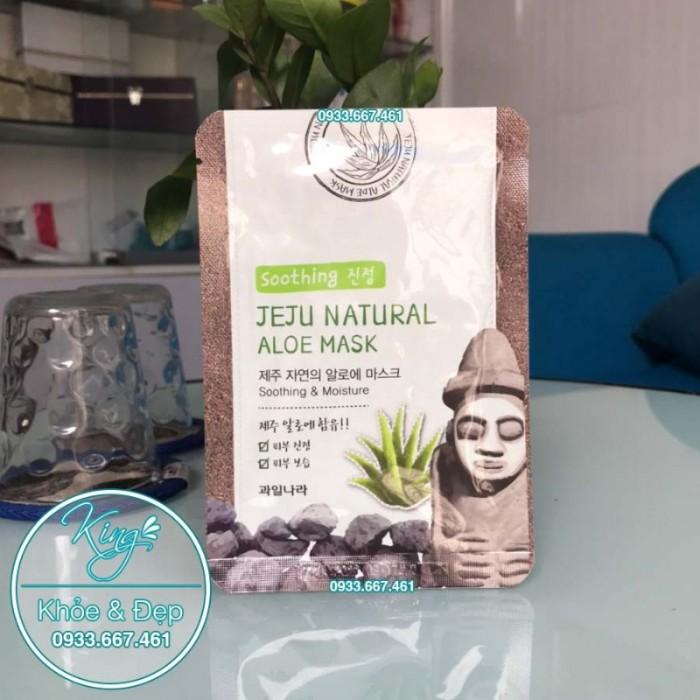 Mặt Nạ Jeju Natural Aloe Mask0