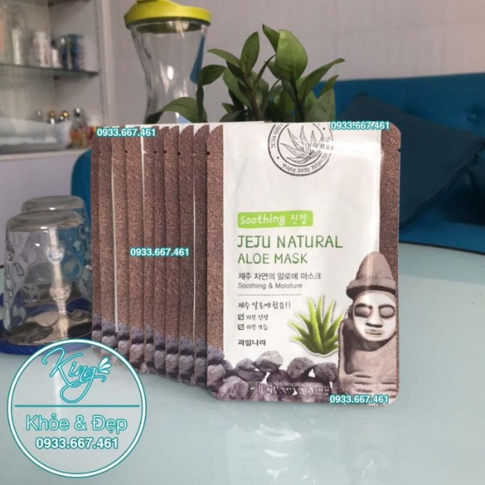 Mặt Nạ Jeju Natural Aloe Mask2