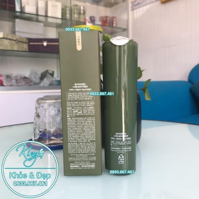 Sữa Dưỡng Nature Republic Snail Solution Emulsion0