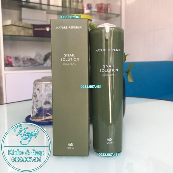 Sữa Dưỡng Nature Republic Snail Solution Emulsion3