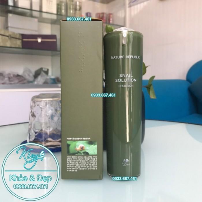 Sữa Dưỡng Nature Republic Snail Solution Emulsion2