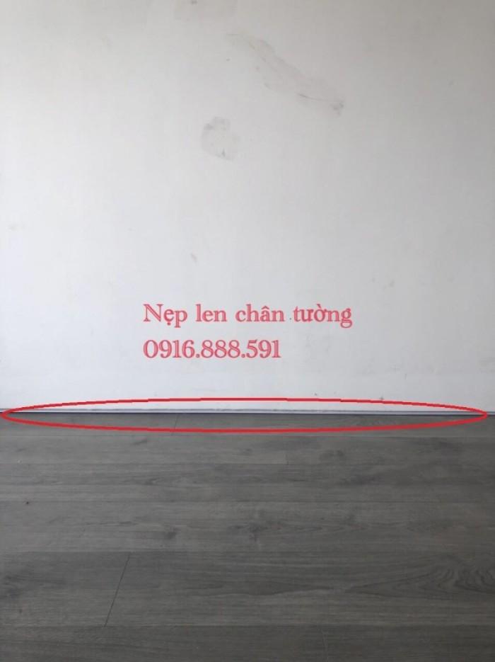 Nẹp len chân tường - Nẹp chỉ viền - Nẹp phân cách sàn3