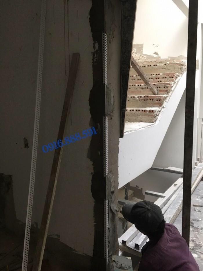 Nẹp ghém tường - Nẹp tô bảo vệ góc - Nẹp góc nhựa - Corner Bead.3