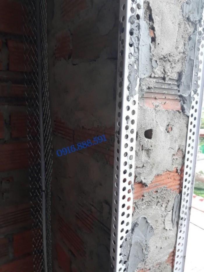 Nẹp ghém tường - Nẹp tô bảo vệ góc - Nẹp góc nhựa - Corner Bead.4