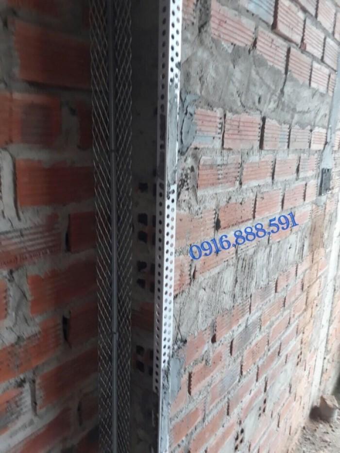 Nẹp ghém tường - Nẹp tô bảo vệ góc - Nẹp góc nhựa - Corner Bead.6
