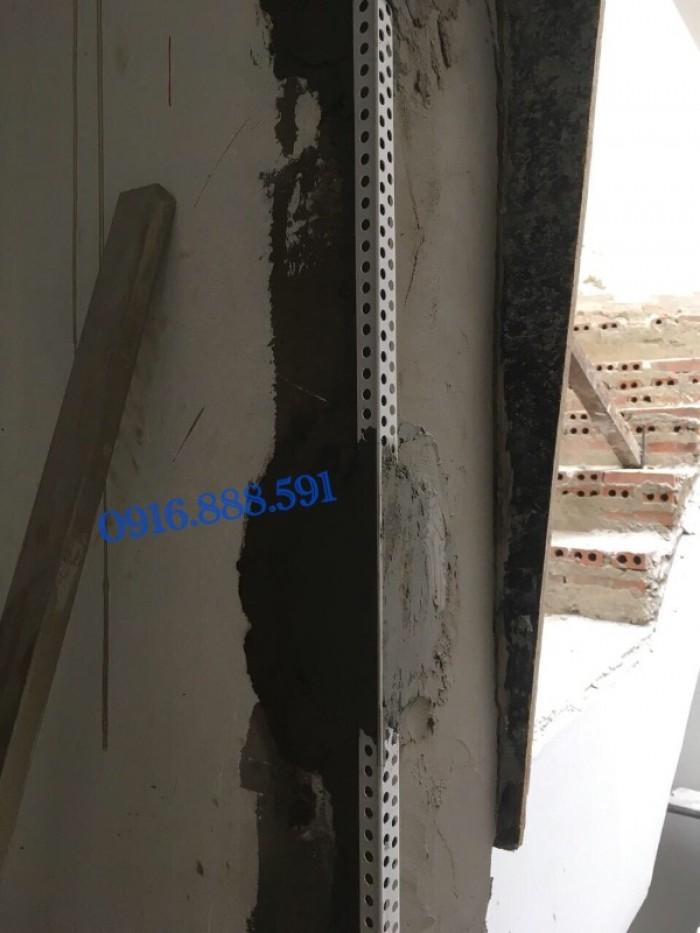 Nẹp ghém tường - Nẹp tô bảo vệ góc - Nẹp góc nhựa - Corner Bead.9