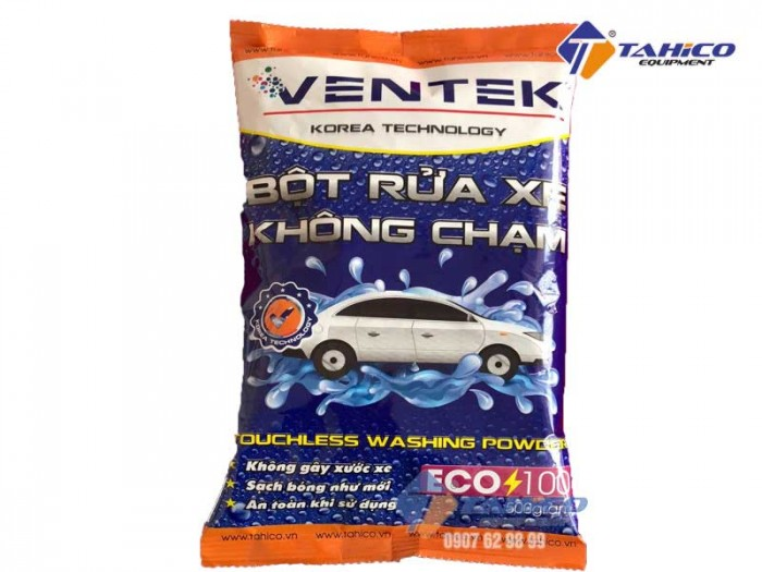 Bột rửa xe bọt tuyết không chạm ventek eco100- tahico0