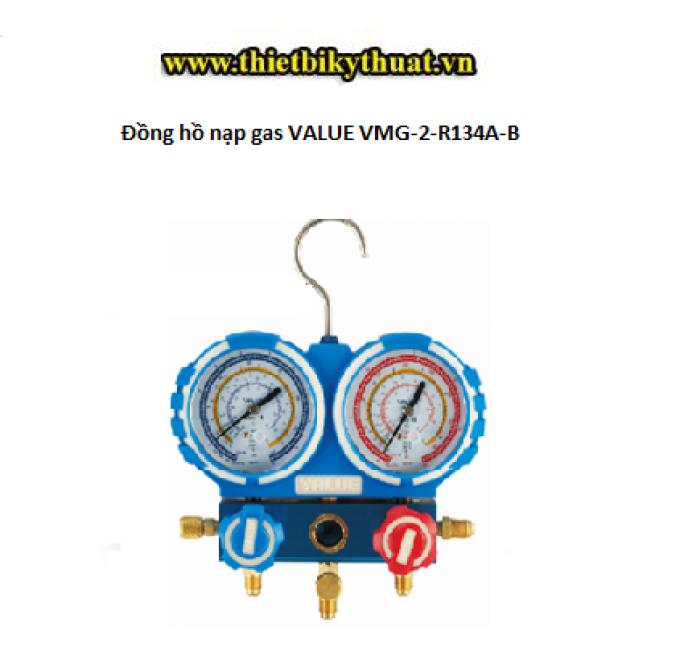 Đồng hồ nạp gas VALUE VMG-2-R134A-B0