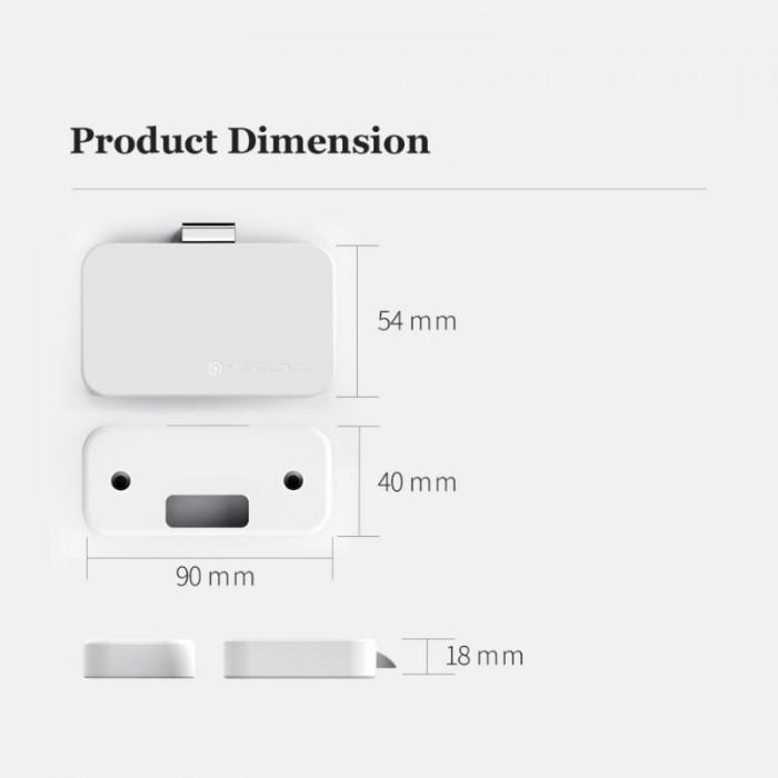 Khóa tủ thông minh Xiaomi YEELOCK Easy lock treasure smart drawer cabinet switch1