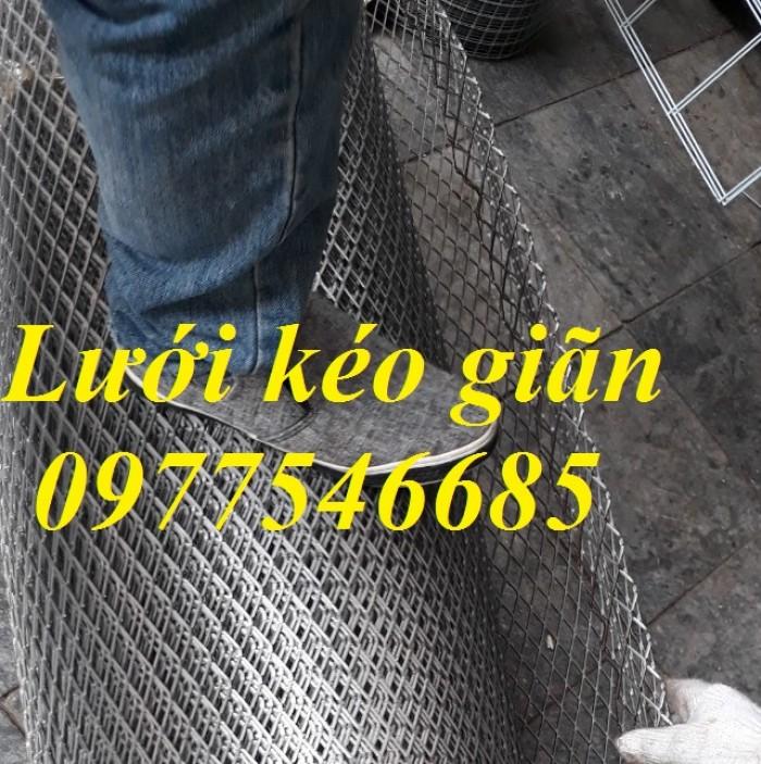 Lưới mắt cáo (lưới thép quả trám, lưới thép hình thoi, lưới thép dập giãn)0