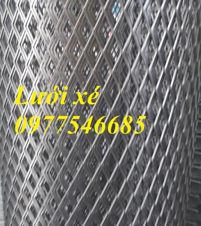 Lưới mắt cáo (lưới thép quả trám, lưới thép hình thoi, lưới thép dập giãn)2
