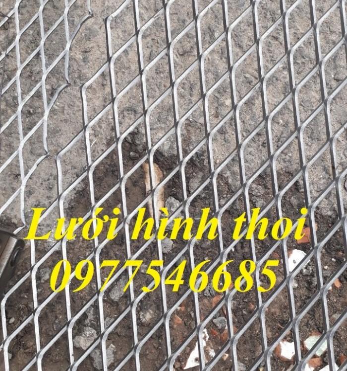Lưới mắt cáo (lưới thép quả trám, lưới thép hình thoi, lưới thép dập giãn)3