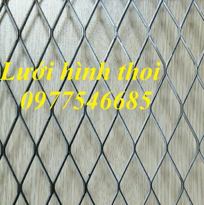 Lưới mắt cáo (lưới thép quả trám, lưới thép hình thoi, lưới thép dập giãn)4