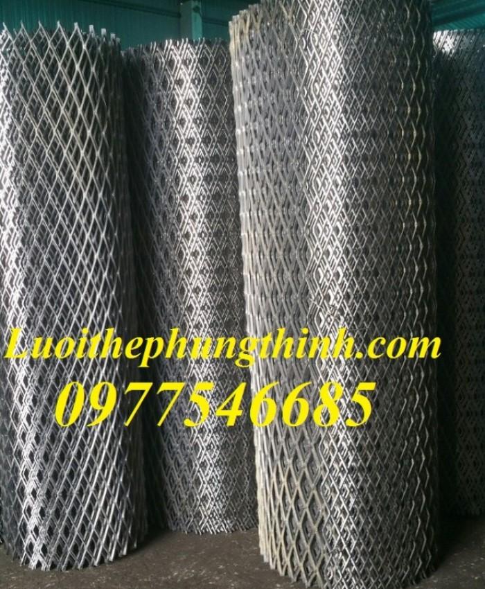 Lưới mắt cáo (lưới thép quả trám, lưới thép hình thoi, lưới thép dập giãn)5