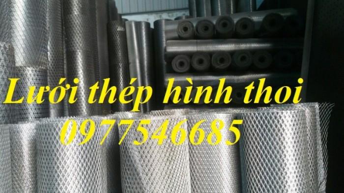 Lưới mắt cáo (lưới thép quả trám, lưới thép hình thoi, lưới thép dập giãn)6