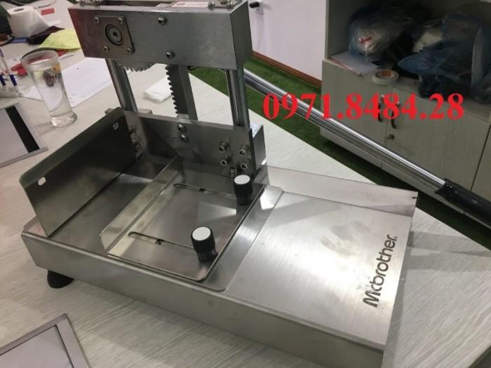 Máy chặt móng giò heo, máy cắt móng giò, máy chặt xương chân giò heo1