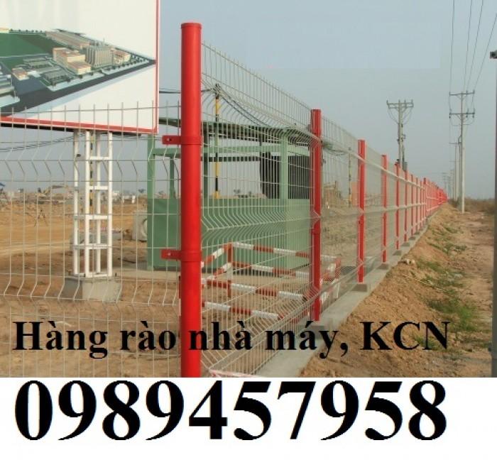 Gia công hàng rào lưới thép, hàng rào khu công nghiệp3