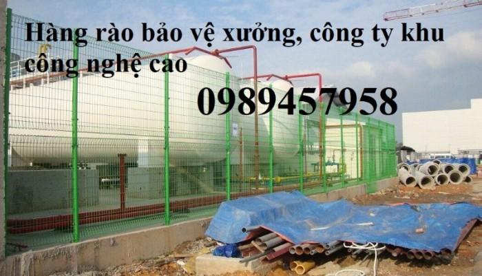 Gia công hàng rào lưới thép, hàng rào khu công nghiệp4