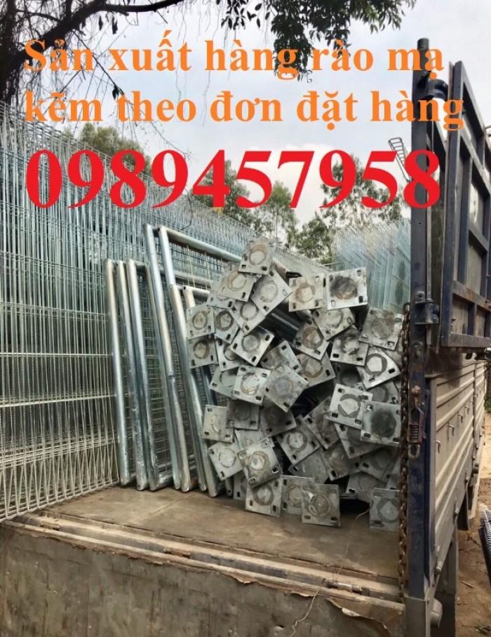 Gia công hàng rào lưới thép, hàng rào khu công nghiệp6