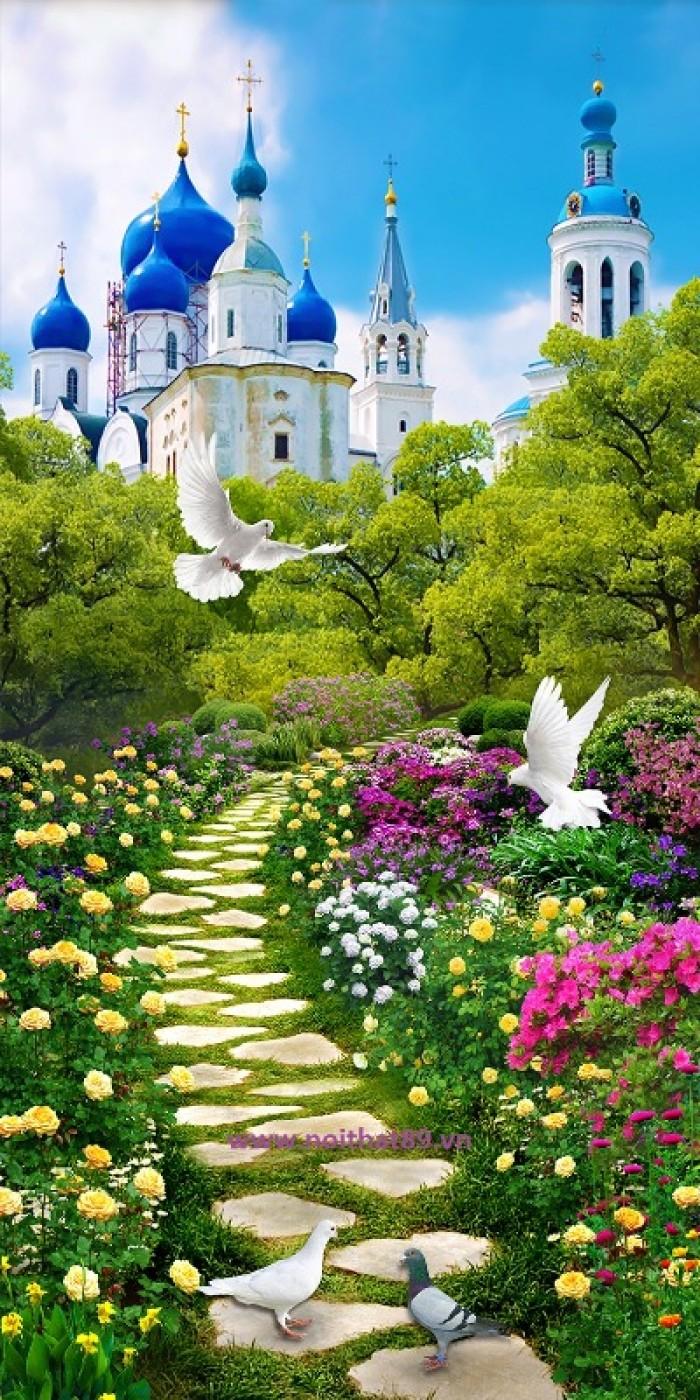 phong cảnh vườn hoa2