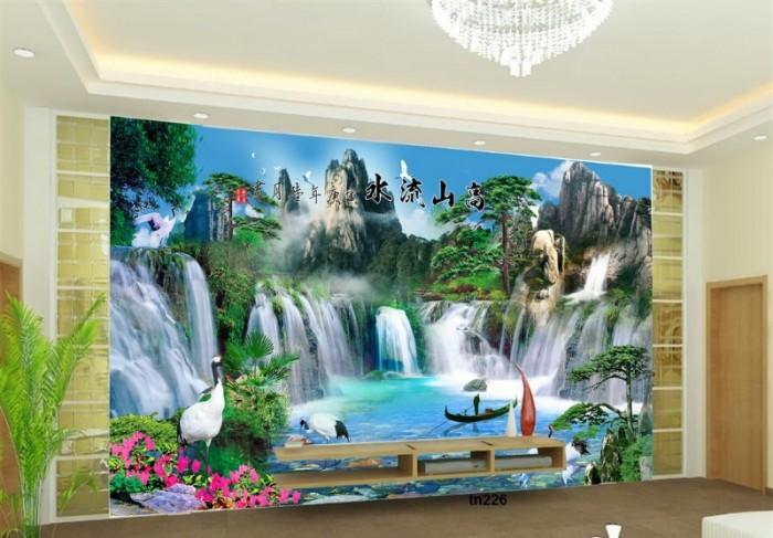 tranh gạch 3d phòng khách- cung cấp gạch tranh 3d0
