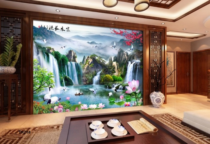 tranh gạch 3d phòng khách- cung cấp gạch tranh 3d6