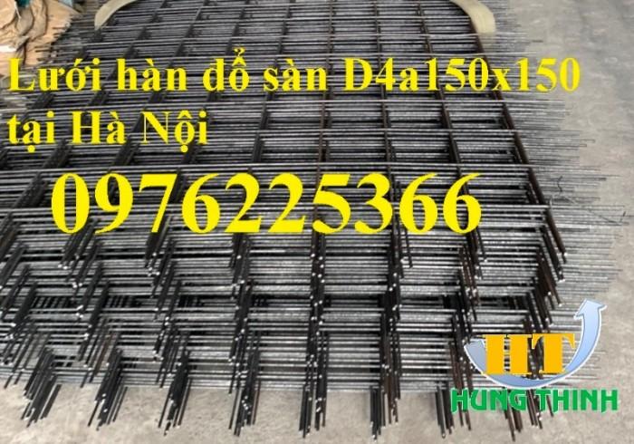 Lưới thép hàn D6 a(200x200), D8 a(200x2000, D10 a(200x200) tại Hà Nội0
