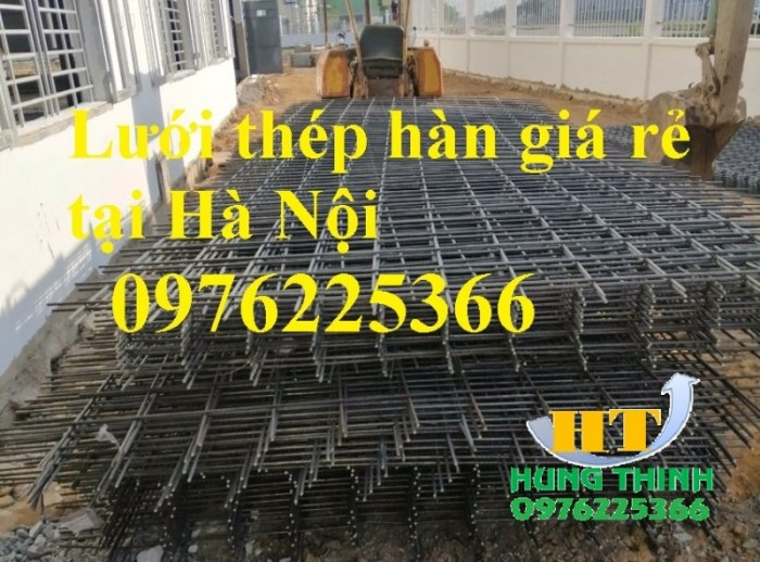 Lưới thép hàn D6 a(200x200), D8 a(200x2000, D10 a(200x200) tại Hà Nội5