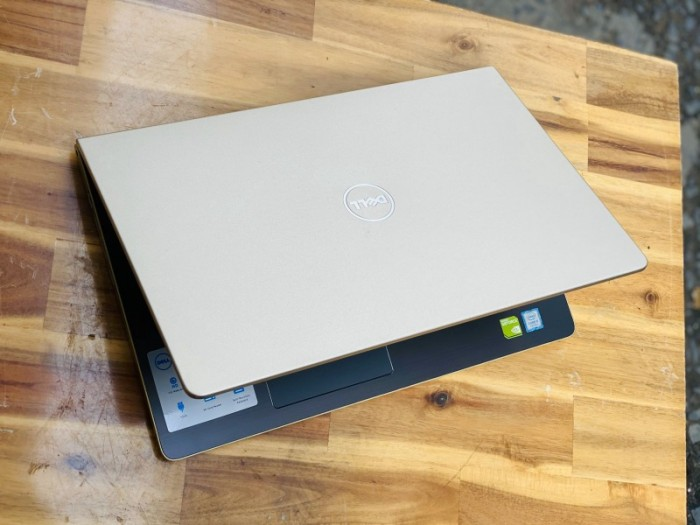 Laptop Dell Vostro 5568, i5 7200U SSD128+500G Vga 940MX Đẹp Keng GOLD Giá rẻ0