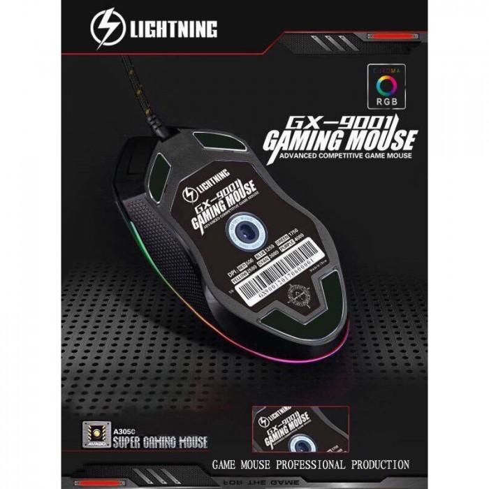 Mouse Lightning GX-9001 Led RGB chính hãng1