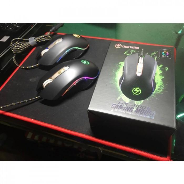 Mouse Lightning GX-9001 Led RGB chính hãng3