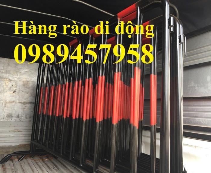 Hàng rào di động inox304, hàng rào di động sơn phản quang có sẵn1