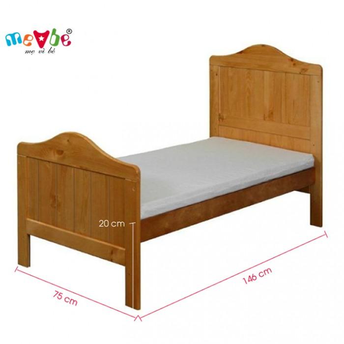Cũi trẻ em Darling màu tự nhiên gồm 3 chức năng sử dụng như dùng làm cũi em bé từ 0 đến 24 tháng, giường đơn trẻ em từ 18 tháng trở lên và ghế salon khi trẻ lớn 5 - 7 tuổi (tùy theo sự phát triển và thể trạng của từng bé)5