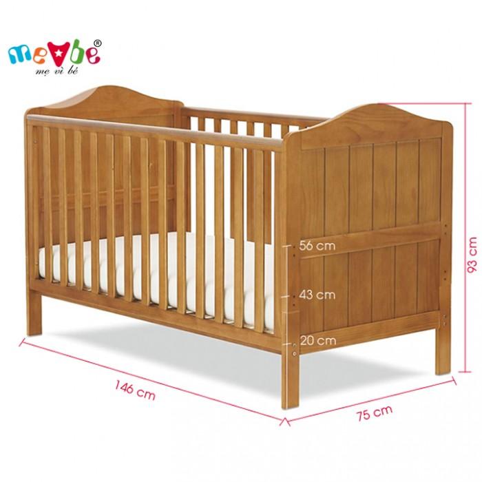 Cũi trẻ em Darling màu tự nhiên gồm 3 chức năng sử dụng như dùng làm cũi em bé từ 0 đến 24 tháng, giường đơn trẻ em từ 18 tháng trở lên và ghế salon khi trẻ lớn 5 - 7 tuổi (tùy theo sự phát triển và thể trạng của từng bé)4