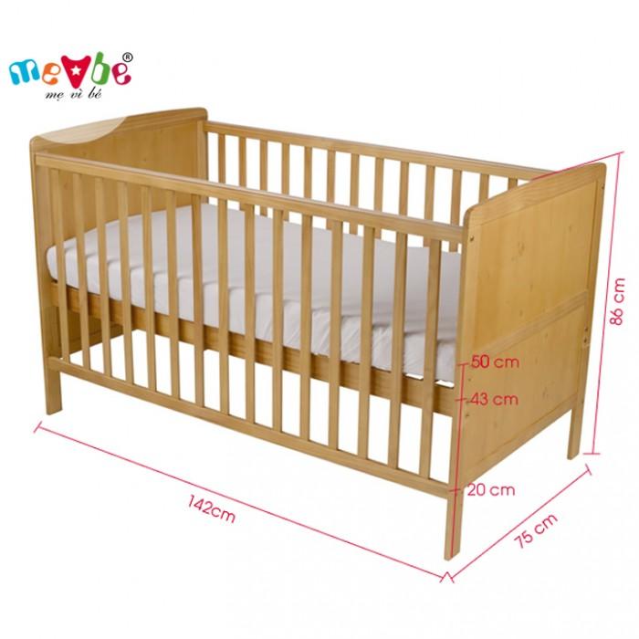 Cũi cho bé Marlow màu tự nhiên gồm 3 chức năng sử dụng như dùng làm cũi trẻ em từ 0 đến 24 tháng, giường cũi cho trẻ nhỏ từ 18 tháng trở lên và ghế salon khi trẻ lớn hơn (tùy theo sự phát triển và thể trạng của từng bé)4