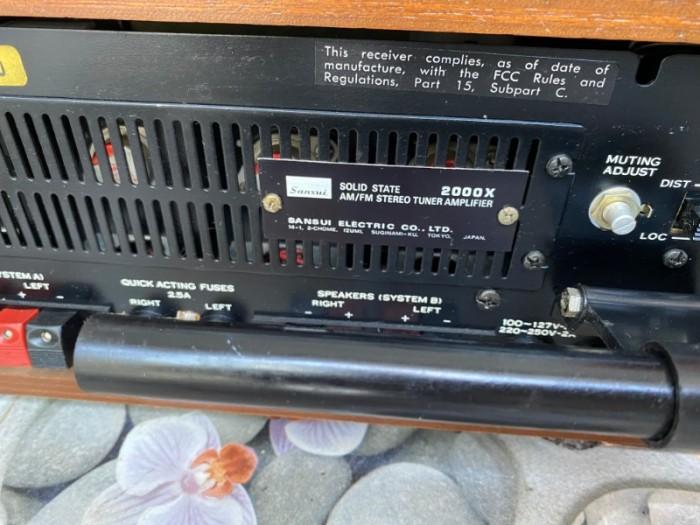 ampli SANSUI 2000X2