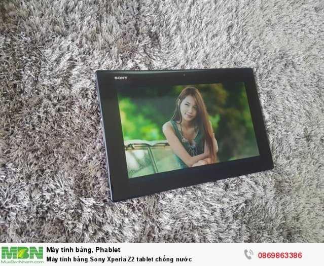 Máy tính bảng Sony Xperia Z2 tablet chống nước1