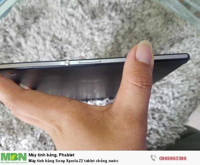 Máy tính bảng Sony Xperia Z2 tablet chống nước3
