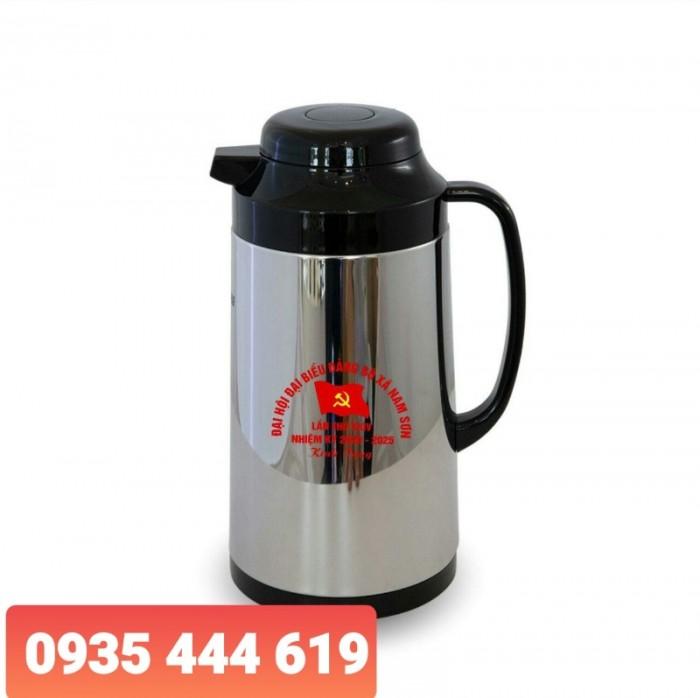 Sản xuất ấm trà in logo Đại hội Đảng tại Huế3
