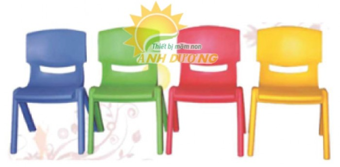 Ghế nhựa đúc mầm non dành cho trẻ em giá rẻ, chất lượng nhất0