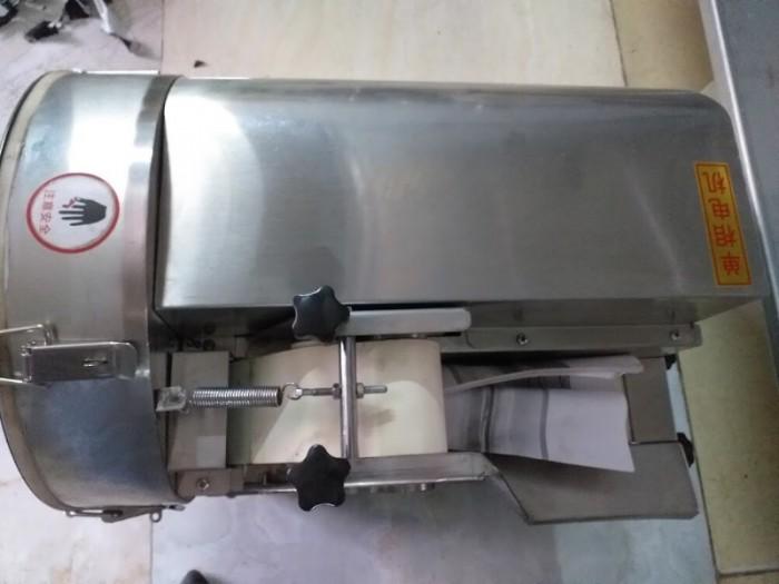 Máy thái hành lá công nghiệp, máy cắt lát hành lá, máy thái hành lá thành lát nhỏ1